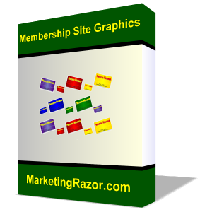 Stunning Graphics for Membership Sites With Resell/Redistribution Rights